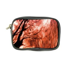 Fire In The Forest Artistic Reproduction Of A Forest Photo Coin Purse by Simbadda