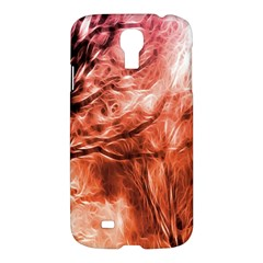 Fire In The Forest Artistic Reproduction Of A Forest Photo Samsung Galaxy S4 I9500/i9505 Hardshell Case by Simbadda