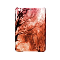 Fire In The Forest Artistic Reproduction Of A Forest Photo Ipad Mini 2 Hardshell Cases by Simbadda