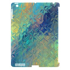 Colorful Patterned Glass Texture Background Apple Ipad 3/4 Hardshell Case (compatible With Smart Cover)