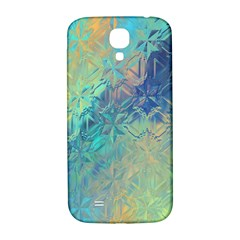 Colorful Patterned Glass Texture Background Samsung Galaxy S4 I9500/i9505  Hardshell Back Case by Simbadda