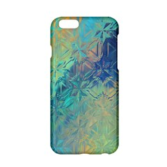 Colorful Patterned Glass Texture Background Apple Iphone 6/6s Hardshell Case by Simbadda