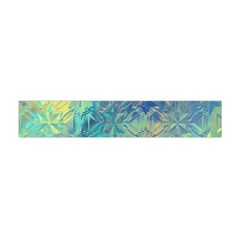 Colorful Patterned Glass Texture Background Flano Scarf (mini)