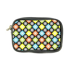 Diamond Argyle Pattern Colorful Diamonds On Argyle Style Coin Purse by Simbadda