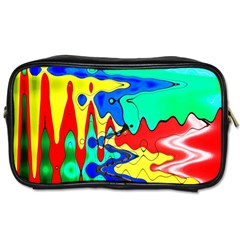 Bright Colours Abstract Toiletries Bags by Simbadda