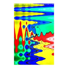 Bright Colours Abstract Shower Curtain 48  X 72  (small)  by Simbadda