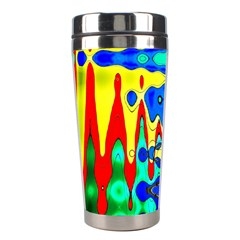 Bright Colours Abstract Stainless Steel Travel Tumblers