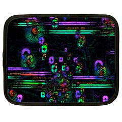 Digital Painting Colorful Colors Light Netbook Case (xl)