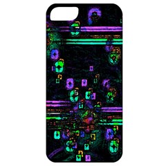 Digital Painting Colorful Colors Light Apple Iphone 5 Classic Hardshell Case by Simbadda