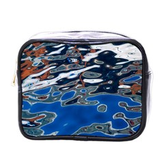 Colorful Reflections In Water Mini Toiletries Bags by Simbadda