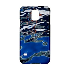 Colorful Reflections In Water Samsung Galaxy S5 Hardshell Case  by Simbadda
