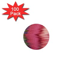 Rectangle Abstract Background In Pink Hues 1  Mini Buttons (100 Pack)