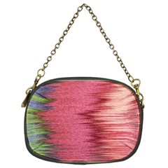 Rectangle Abstract Background In Pink Hues Chain Purses (two Sides)  by Simbadda