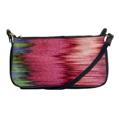 Rectangle Abstract Background In Pink Hues Shoulder Clutch Bags