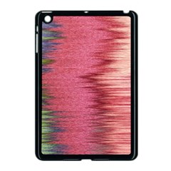 Rectangle Abstract Background In Pink Hues Apple Ipad Mini Case (black) by Simbadda