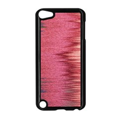 Rectangle Abstract Background In Pink Hues Apple Ipod Touch 5 Case (black) by Simbadda