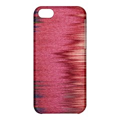 Rectangle Abstract Background In Pink Hues Apple Iphone 5c Hardshell Case by Simbadda