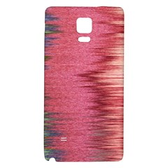 Rectangle Abstract Background In Pink Hues Galaxy Note 4 Back Case by Simbadda