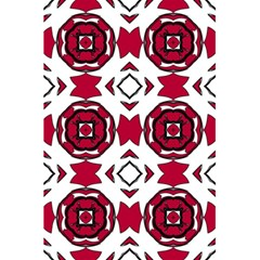 Seamless Abstract Pattern With Red Elements Background 5 5  X 8 5  Notebooks by Simbadda