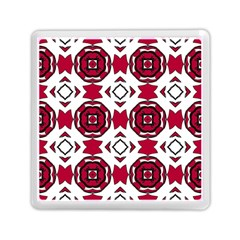Seamless Abstract Pattern With Red Elements Background Memory Card Reader (square)  by Simbadda