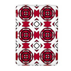 Seamless Abstract Pattern With Red Elements Background Samsung Galaxy Tab 2 (10 1 ) P5100 Hardshell Case