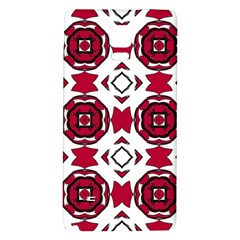 Seamless Abstract Pattern With Red Elements Background Galaxy Note 4 Back Case