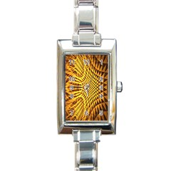Patterned Wallpapers Rectangle Italian Charm Watch by Simbadda