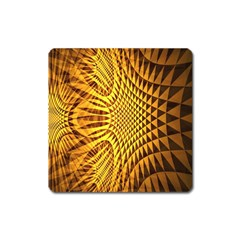 Patterned Wallpapers Square Magnet by Simbadda