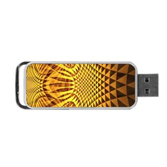 Patterned Wallpapers Portable Usb Flash (two Sides) by Simbadda