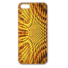 Patterned Wallpapers Apple Seamless Iphone 5 Case (clear) by Simbadda