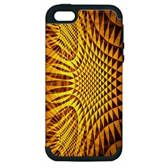 Patterned Wallpapers Apple Iphone 5 Hardshell Case (pc+silicone) by Simbadda
