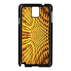 Patterned Wallpapers Samsung Galaxy Note 3 N9005 Case (black) by Simbadda