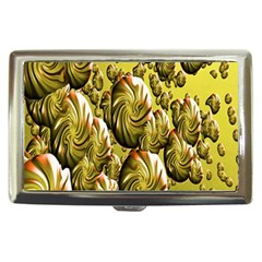 Melting Gold Drops Brighten Version Abstract Pattern Revised Edition Cigarette Money Cases by Simbadda