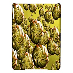 Melting Gold Drops Brighten Version Abstract Pattern Revised Edition Ipad Air Hardshell Cases by Simbadda