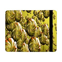 Melting Gold Drops Brighten Version Abstract Pattern Revised Edition Samsung Galaxy Tab Pro 8 4  Flip Case by Simbadda
