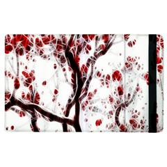 Tree Art Artistic Abstract Background Apple Ipad 3/4 Flip Case by Simbadda
