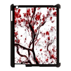 Tree Art Artistic Abstract Background Apple Ipad 3/4 Case (black) by Simbadda