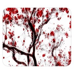 Tree Art Artistic Abstract Background Double Sided Flano Blanket (small)