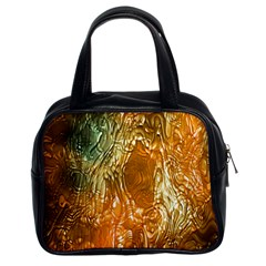 Light Effect Abstract Background Wallpaper Classic Handbags (2 Sides) by Simbadda