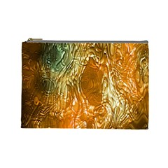 Light Effect Abstract Background Wallpaper Cosmetic Bag (large)  by Simbadda