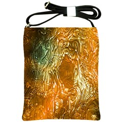 Light Effect Abstract Background Wallpaper Shoulder Sling Bags by Simbadda