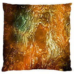 Light Effect Abstract Background Wallpaper Large Flano Cushion Case (one Side) by Simbadda