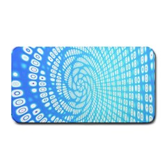 Abstract Pattern Neon Glow Background Medium Bar Mats