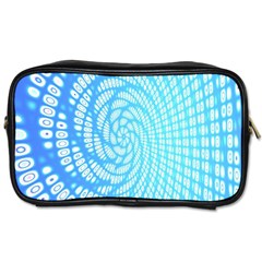 Abstract Pattern Neon Glow Background Toiletries Bags
