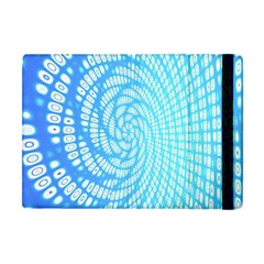 Abstract Pattern Neon Glow Background Apple Ipad Mini Flip Case by Simbadda