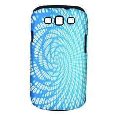 Abstract Pattern Neon Glow Background Samsung Galaxy S Iii Classic Hardshell Case (pc+silicone) by Simbadda