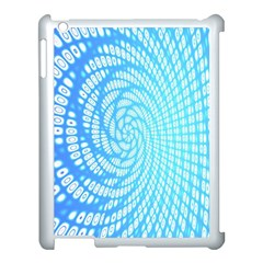 Abstract Pattern Neon Glow Background Apple Ipad 3/4 Case (white) by Simbadda