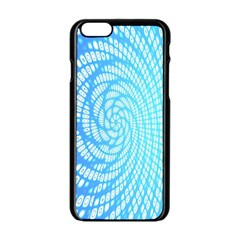Abstract Pattern Neon Glow Background Apple Iphone 6/6s Black Enamel Case by Simbadda
