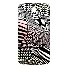 Abstract Fauna Pattern When Zebra And Giraffe Melt Together Samsung Galaxy Mega I9200 Hardshell Back Case