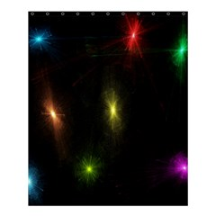 Star Lights Abstract Colourful Star Light Background Shower Curtain 60  X 72  (medium)  by Simbadda